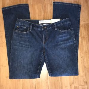 Never worn Ann Taylor curvy boot jeans